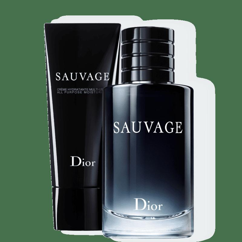 Kit Dior Sauvage Masculino Eau de Toilette 100ml + Creme Hidratante 150ml
