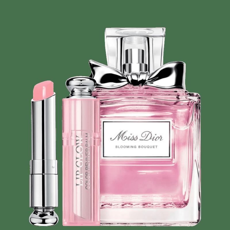 Conjunto Dior Miss DIOR Blooming Bouquet Pink Feminino - Eau de Toilette 100ml + Bálsamo Labial 3,5g
