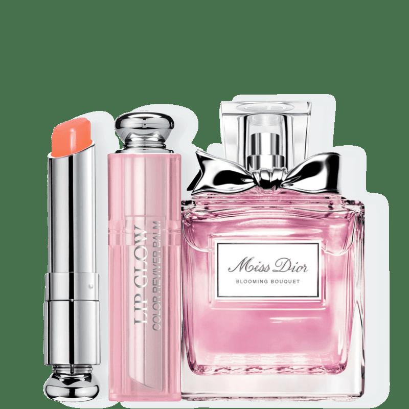 Kit Dior Miss DIOR Blooming Bouquet Feminino Eau de Toilette 30ml + Bálsamo Labial Coral 3,5g