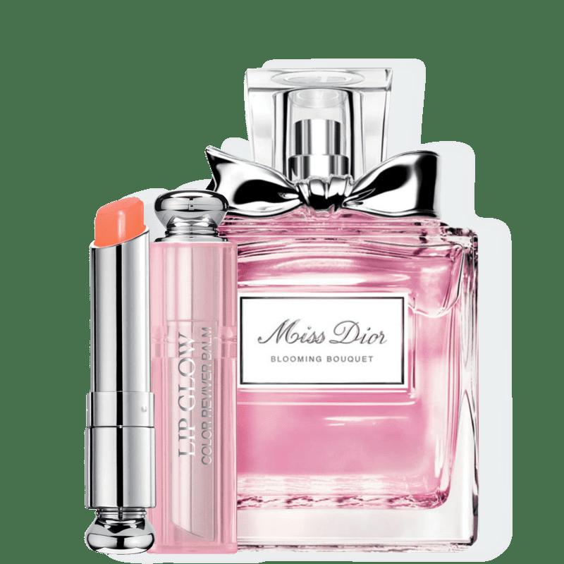 Conjunto Dior Miss DIOR Blooming Bouquet Coral Feminino - Eau de Toilette 100ml + Bálsamo Labial 3,5g