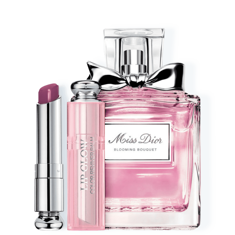 Conjunto Dior Miss DIOR Blooming Bouquet Berry Feminino - Eau de Toilette 100ml + Bálsamo Labial 3,5g