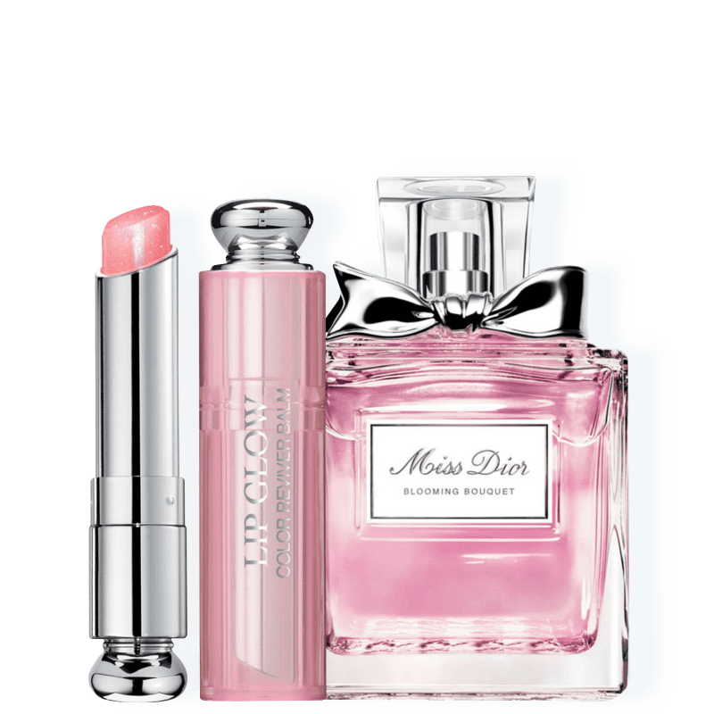 Conjunto Dior Miss Dior Blooming Bouquet Pink Feminino - Eau de Toilette 30ml + Bálsamo Labial 3,5g