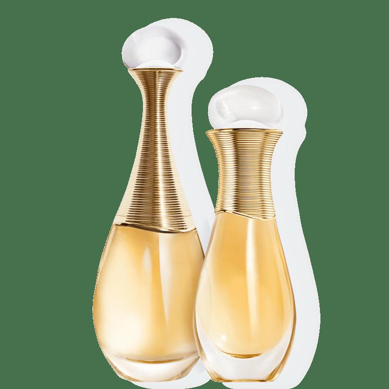 Kit J'adore Roller-Pearl Dior Feminino - Eau de Parfum 100ml + Eau de Parfum 20ml