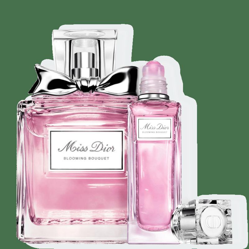 Conjunto Miss DIOR Blooming Bouquet Dior Feminino - Eau de Toilette 100ml + Eau de Toilette 20ml