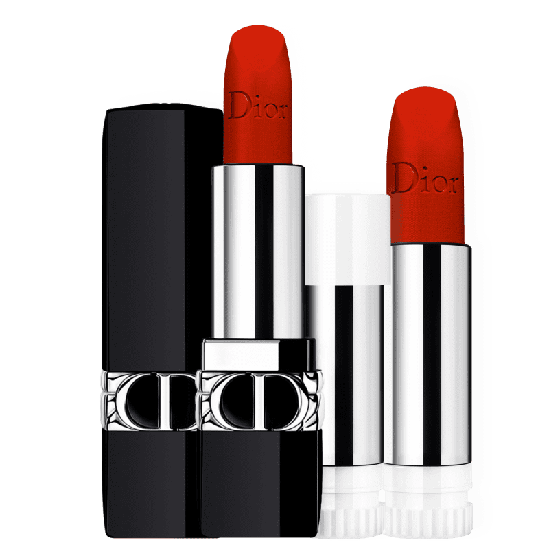Kit Dior Labial Refil #04 (2 Produtos)