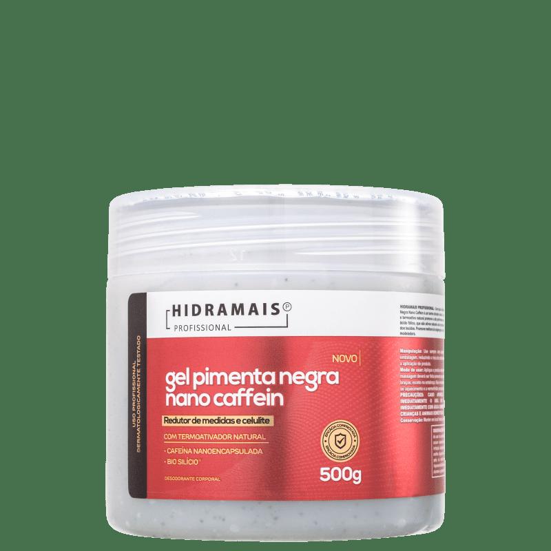 Hidramais Pimenta Negra Nano Caffein - Gel de Massagem 500g