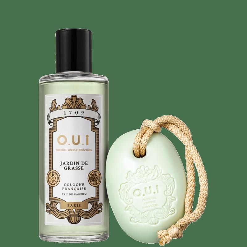 Conjunto Jardin de Grasse O.U.i Unissex - Eau de Parfum 115ml + Sabonete em Barra 190g