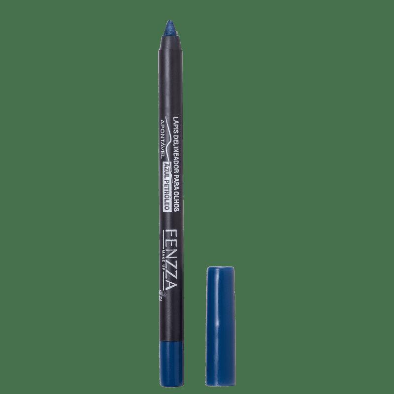 Fenzza Make Up  Azul Petróleo - Lápis Delineador 1,4g
