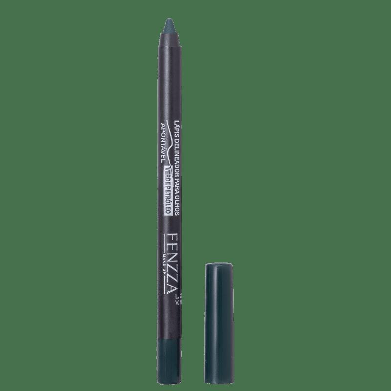 Fenzza Make Up  Verde Petróleo - Lápis Delineador 1,4g