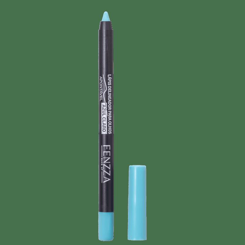 Fenzza Make Up  Azul Claro - Lápis Delineador 1,4g