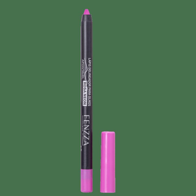 Fenzza Make Up Rosa Neon - Lápis Delineador 1,4g