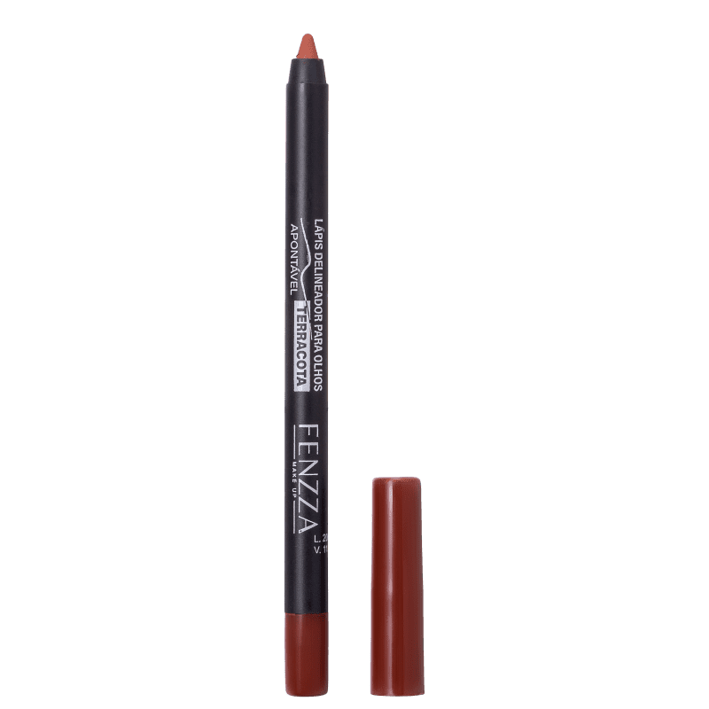Fenzza Make Up Terracota - Lápis Delineador 1,4g