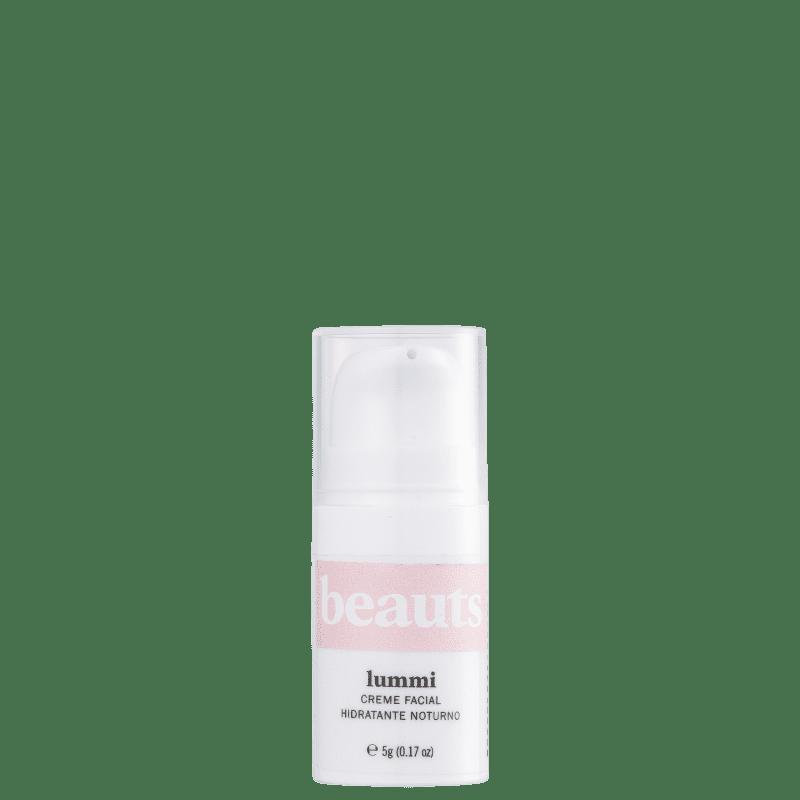 Beauts Lummi - Creme Hidratante Clareador Noturno 5g