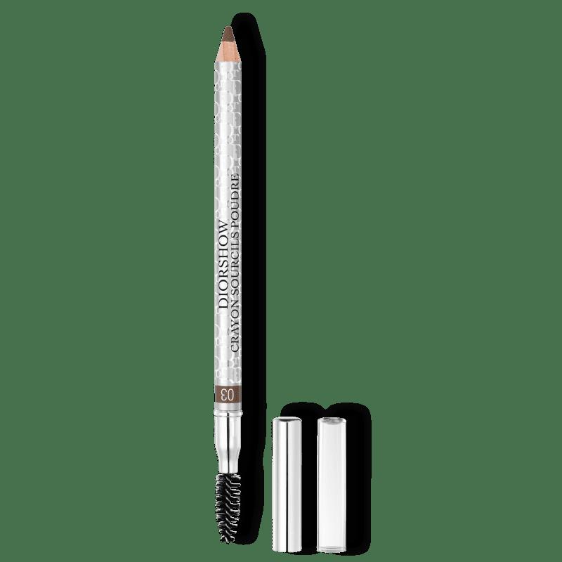 Dior Diorshow Crayon Sourcils Poudre 03 Brown - Lápis para Sobrancelhas 1,19g