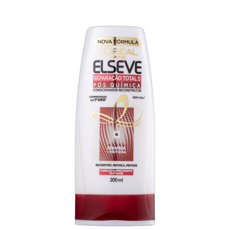 Elseve L'Oréal Paris Reparação Total 5 Pós Química - Condicionador 200ml
