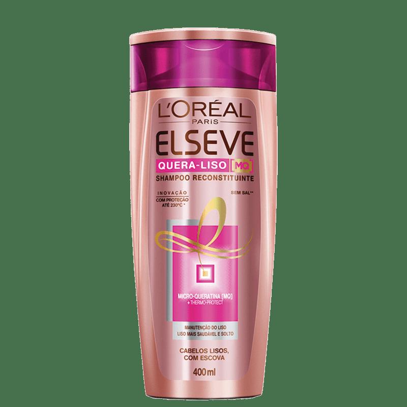 Elseve L'Oréal Paris Quera-Liso MQ - Shampoo 400ml