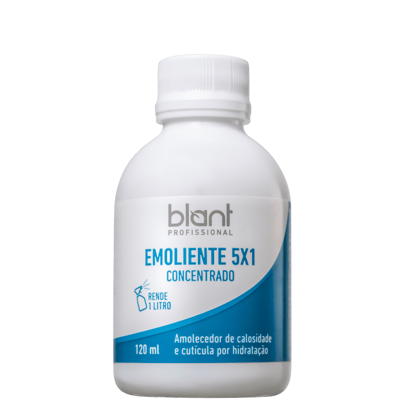 Blant Emoliente 5x1 Concentrado - Amolecedor de Cutículas e Calosidades 120ml