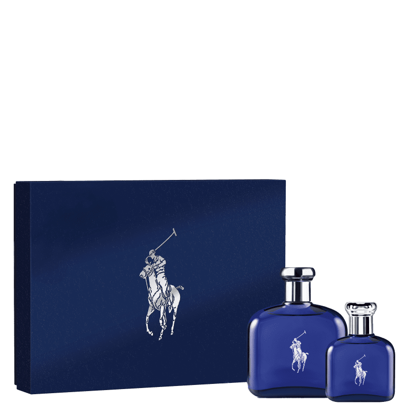Conjunto Polo Blue Ralph Lauren Masculino - Eau de Toilette 125ml + Eau de Toilette 40ml