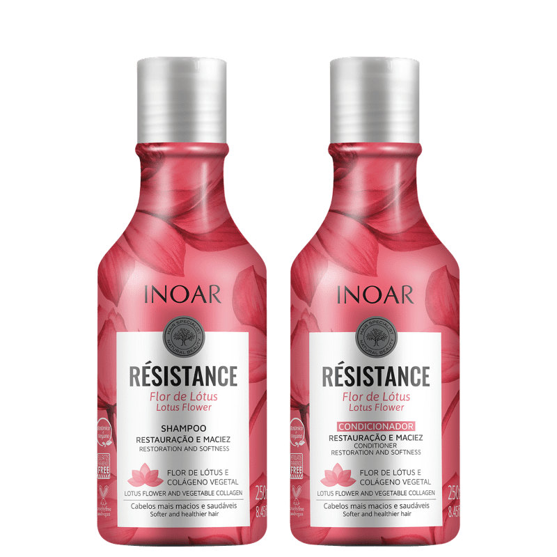 Kit Inoar Résistance Flor de Lótus Duo (2 Produtos)