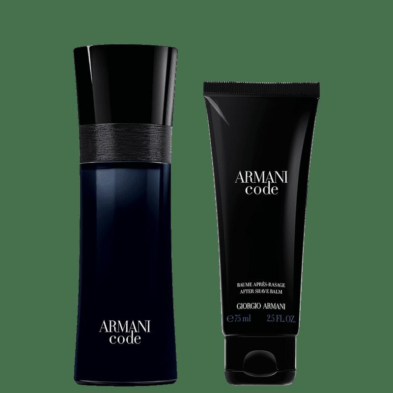 Kit Armani Code Giorgio Armani - Eau de Toilette 75ml + Bálsamo Pós-Barba 75ml