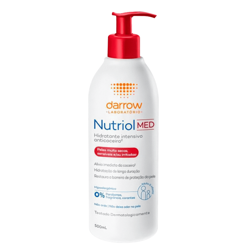 Darrow Nutriol Med - Loção Hidratante Corporal 500ml