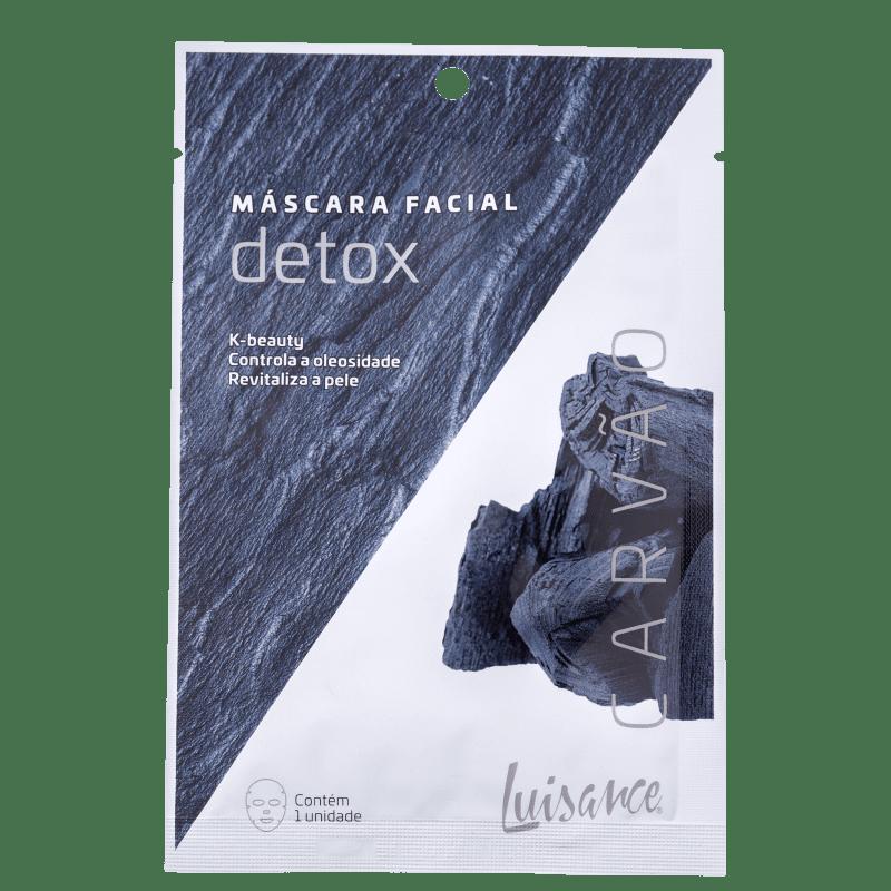 Luisance Detox Carvão - Máscara Facial (1 Unidade)