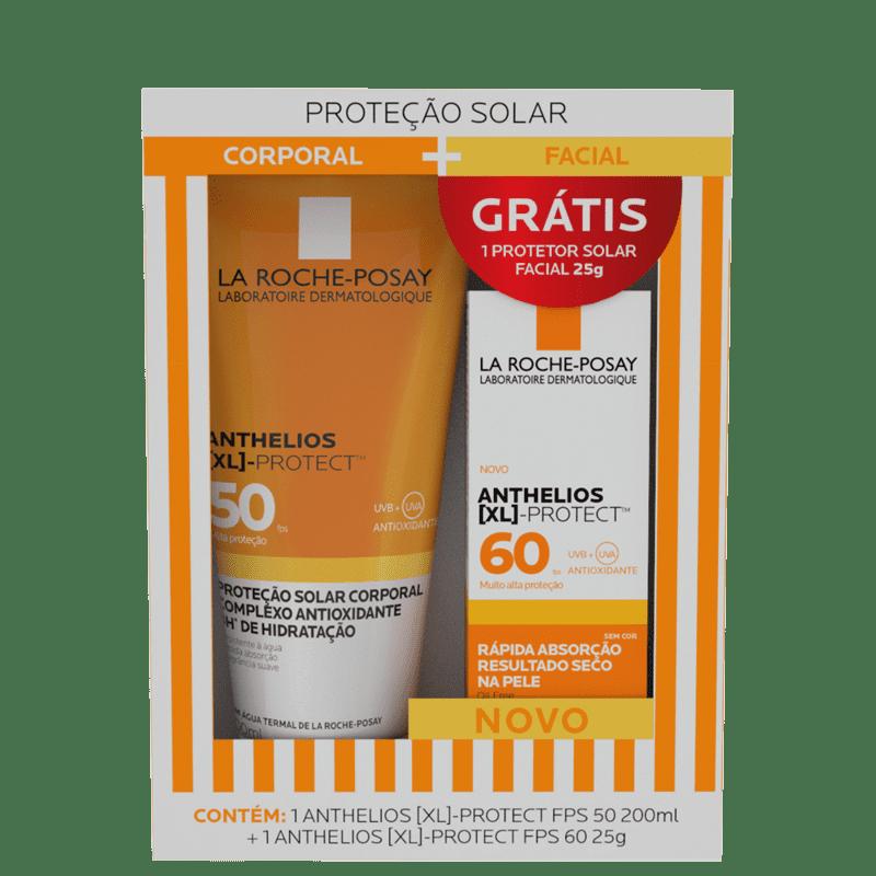 Kit La Roche-Posay Anthelios XL Protect Corporal e Facial (2 Produtos)