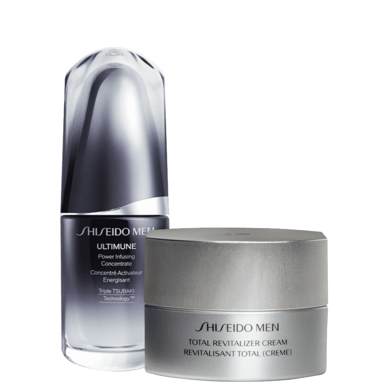 Kit Shiseido Men Revitalizer Sérum (2 Produtos)