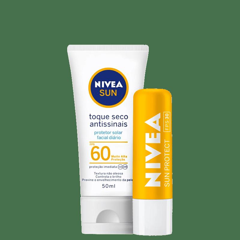 Kit NIVEA Sun Protect Antissinais (2 Produtos)