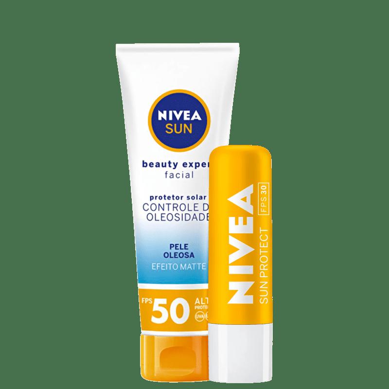Kit NIVEA Sun Beauty Protect (2 Produtos)