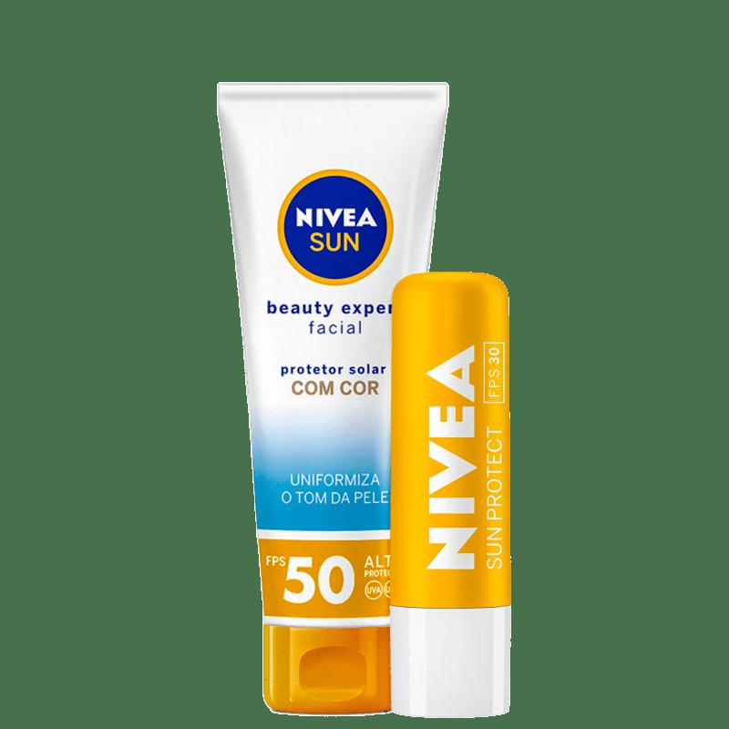 Kit NIVEA Sun Beauty Expert Protect (2 Produtos)