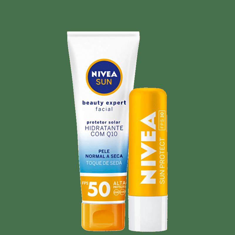 Kit NIVEA Sun Beauty Pele Normal a Seca (2 Produtos)