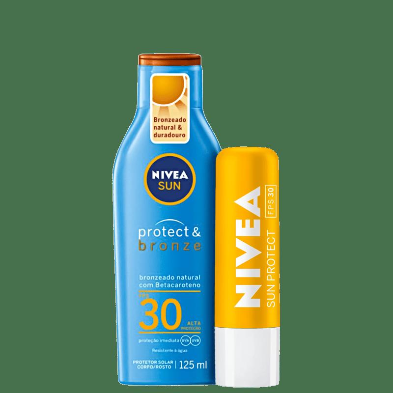 Kit NIVEA Sun Protect Bronze Intense (2 Produtos)