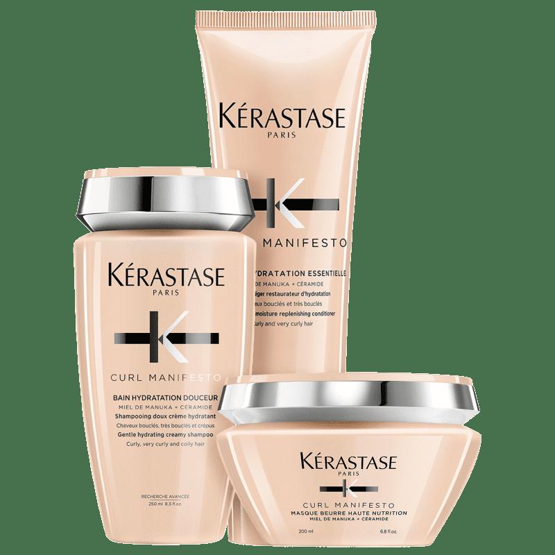 Kit Kérastase Curl Manifesto Nutrition (3 Produtos)