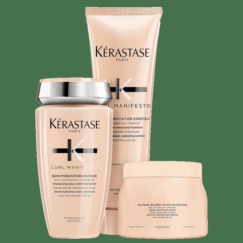 Kit Kérastase Curl Manifesto Nutrition Plus (3 Produtos)