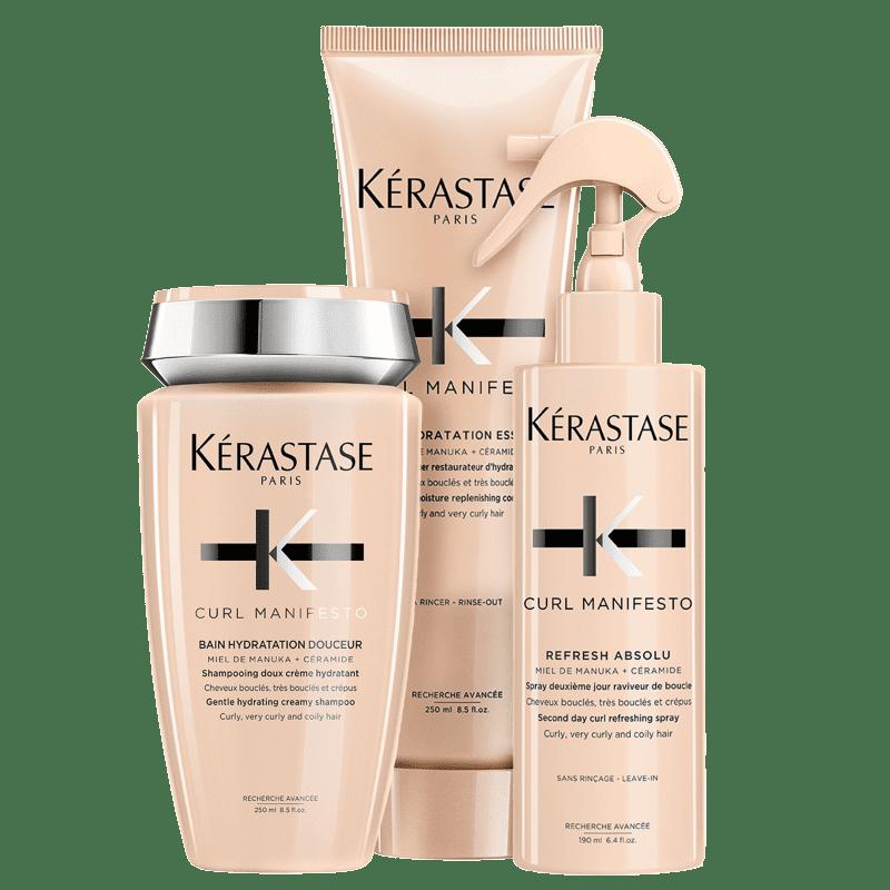 Kit Kérastase Curl Manifesto Refresh (3 Produtos)