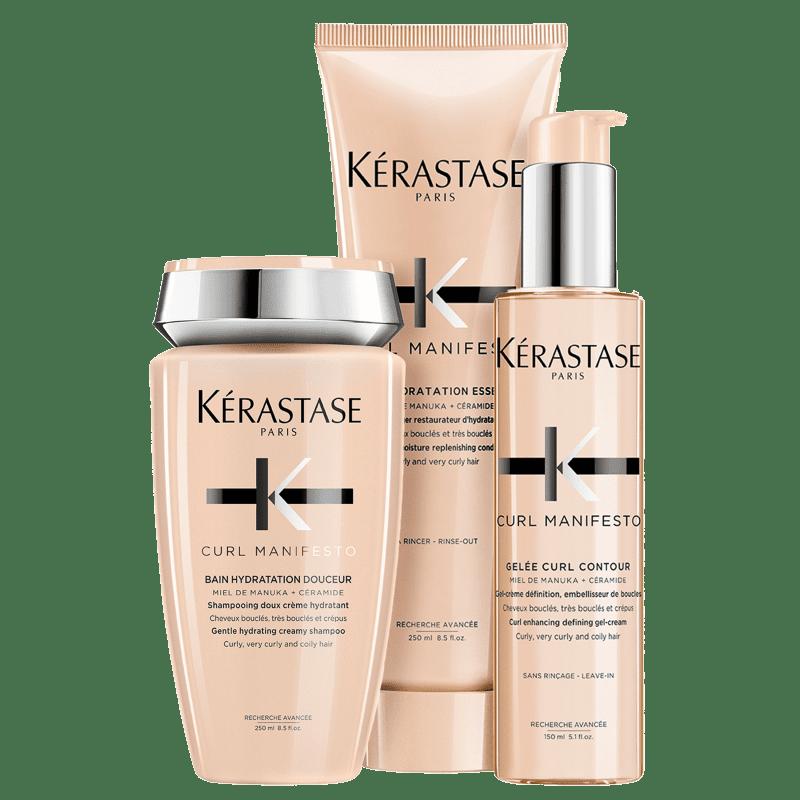 Kit Kérastase Curl Manifesto Gelée (3 Produtos)