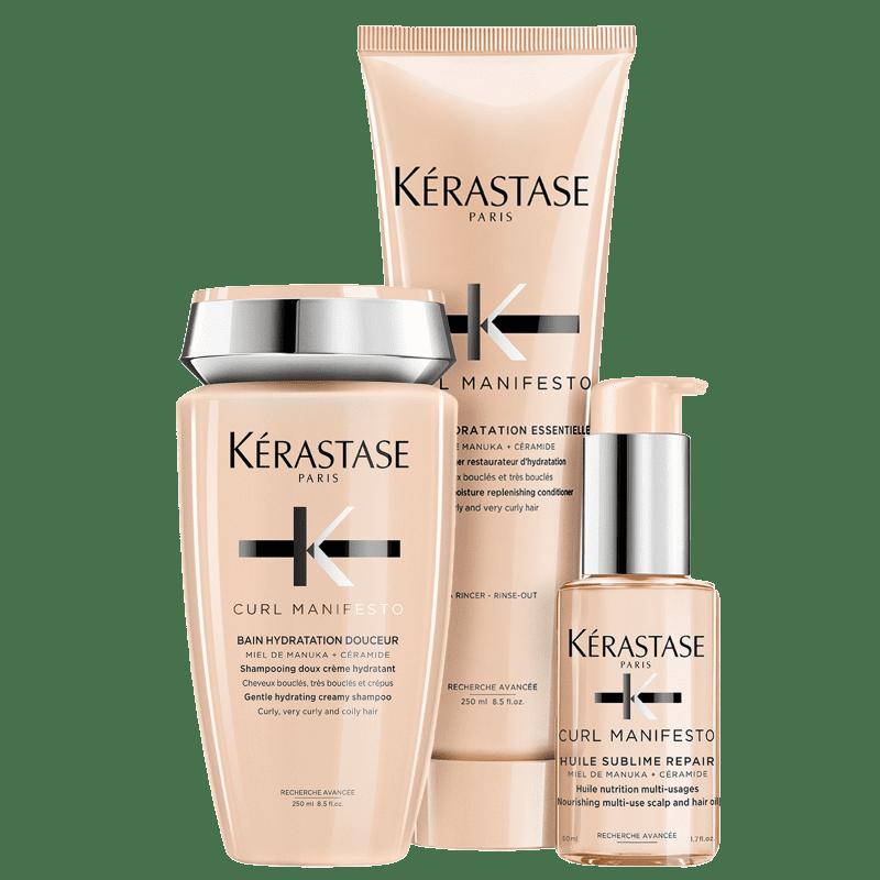 Kit Kérastase Curl Manifesto Sublime Repair (3 Produtos)