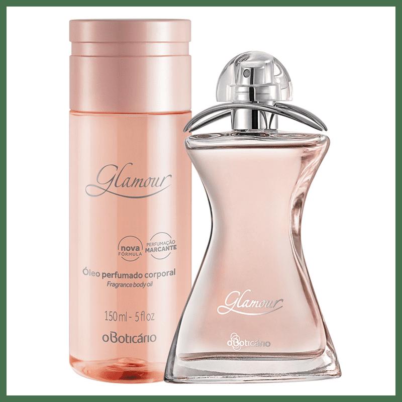 Combo Glamour: Desodorante Colônia + Óleo Corporal