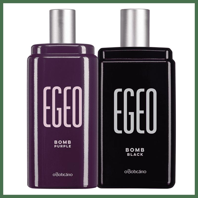 Combo Egeo Bomb: Egeo Bomb Black 90ml + Egeo Bomb Purple 90ml