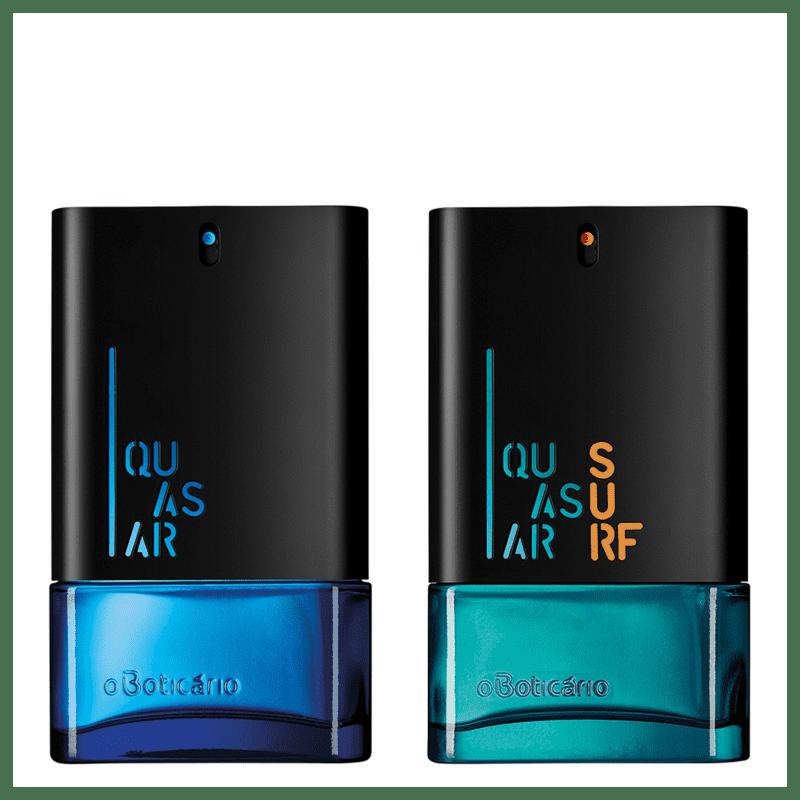 Combo Perfumaria Quasar: Quasar Desodorante Colônia 100ml + Quasar Surf Desodorante Colônia 100ml