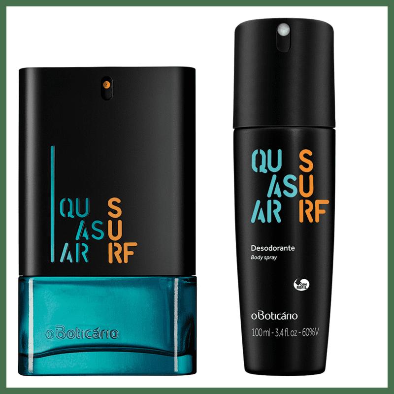 Combo Quasar Surf: Des. Colônia + Desodorante Body Spray