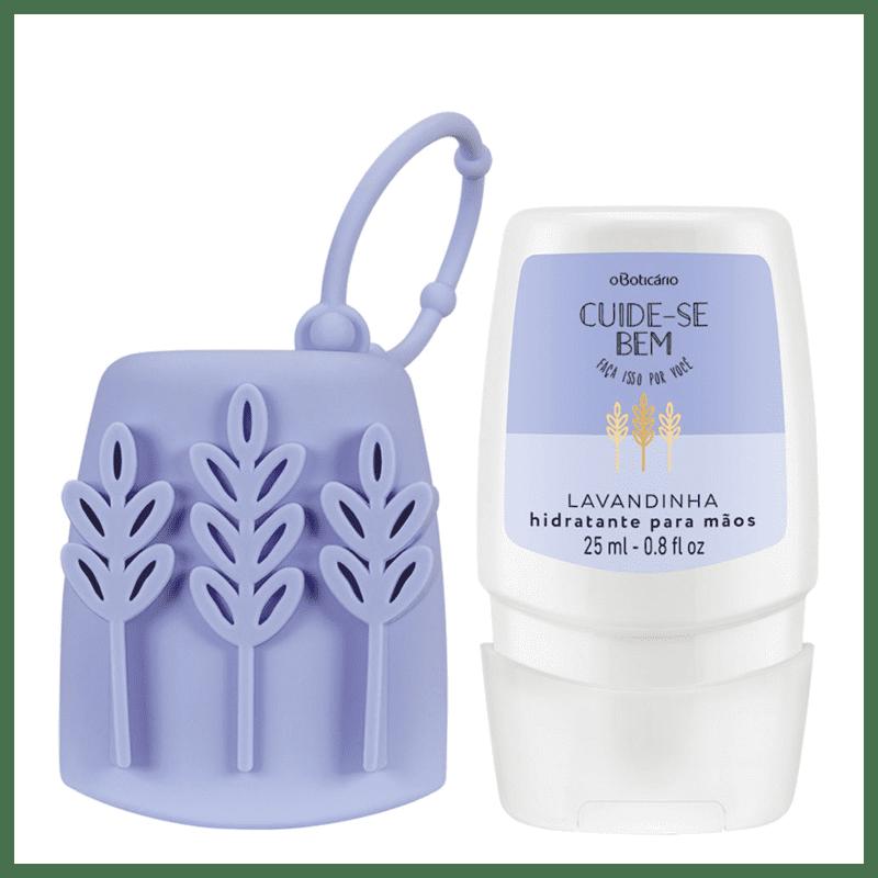 Combo Cuide-se Bem Lavandinha: Creme Desodorante Mãos + Capinha