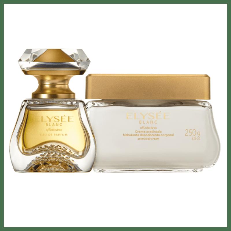 Combo Elysée Blanc: Eau de Parfum + Creme Acetinado Hidratante