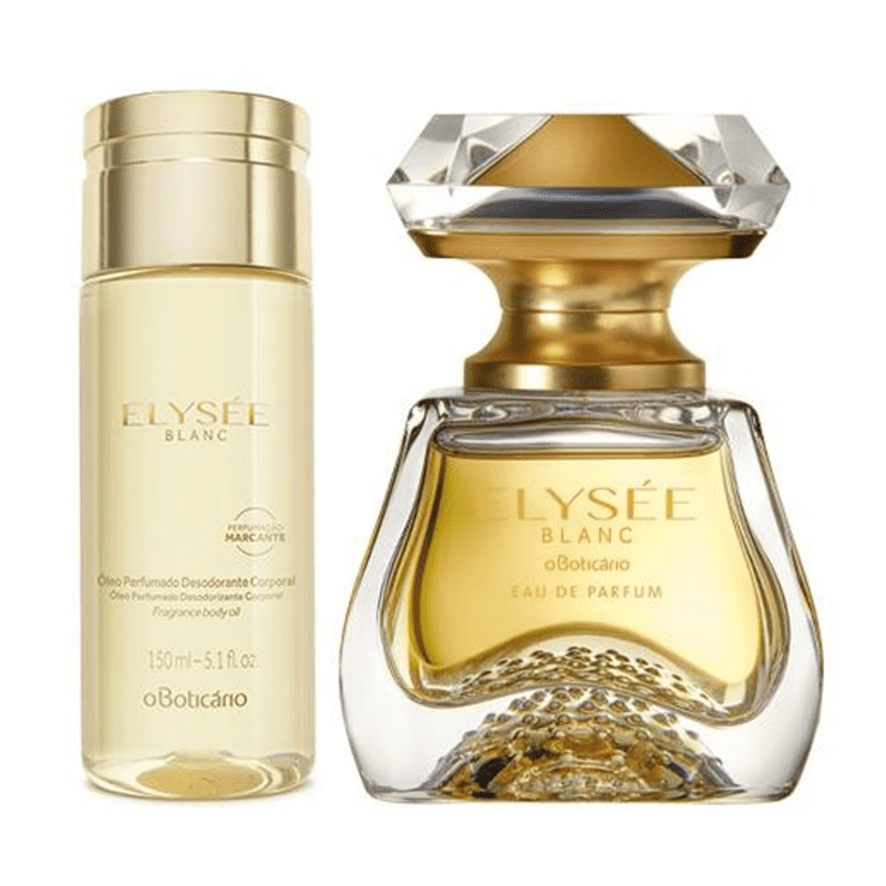 Combo Elysée Blanc: Eau de Parfum 50ml + Óleo Perfumado Desodorante Corporal 150ml