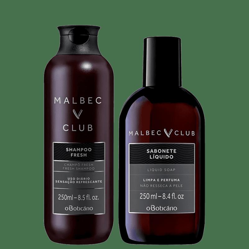 Kit o Boticário Malbec Club + Fresh (2 produtos)
