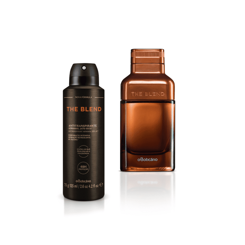 Combo The Blend: Eau De Parfum, 100 ml + Antitranspirante Aerossol, 75 g/125 ml