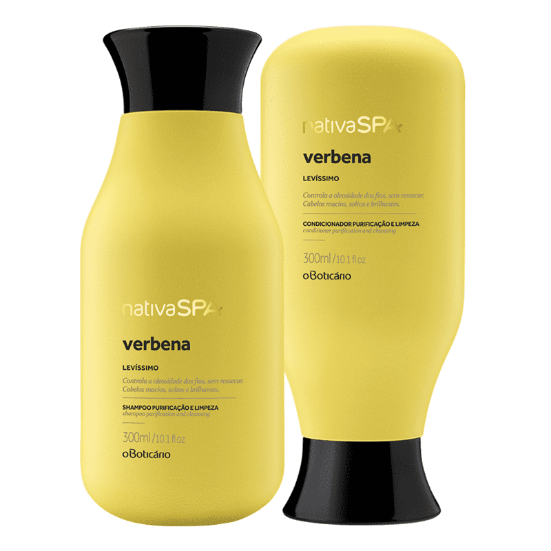 Combo Nativa SPA Verbena Banho: Shampoo + Condicionador