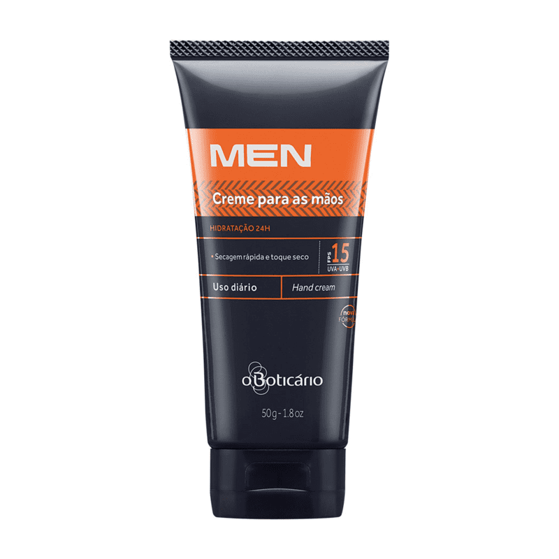 Creme Hidratante Desodorante para Mãos FPS 15 MEN, 50g