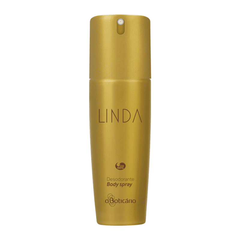 Desodorante Body Spray Linda, 100ml